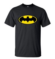 Wholesale batman tops - Camping T-Shirts Men's T-Shirts Summer Cartoon Batman T Shirts Men Short Sleeve O-Neck Streetwear T-Shirt High Quality Printed Hip Hop Tops