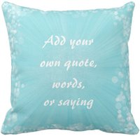"""Wholesale Making Throw Pillows - Make Your Own Quote Throw Pillow Case, Squar Sofa Cushions Cover, """"16inch 18inch 20inch"""", Pack of X"""