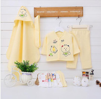 Wholesale Baby Suits Newborn Gift Set - 13pcs Set Newborn baby Clothes Autumn and Winner Clothing set Cute infant Clothes suit Christmas gifts
