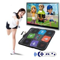 Wholesale Dancing Mats For Tv - Non-Slip PVC Thickened Somatosensory Dancing Mat Game Mat Dance Pad For PC TV AV Video Game Machine