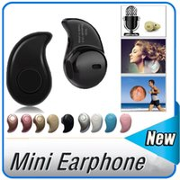 Wholesale Mini Music Box Iphone - Black Sport Running S530 Mini Stealth Wireless Bluetooth 4.0 Earphone Stereo Headphones music Headset Retail Box for iphone7 iphone8 Note8