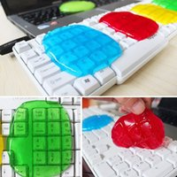 Wholesale Clean Slimy Gel - Wiper Cleaner color Random Super Clean Slimy Gel Home Dust for Keyboard all-purpose miraculous unique high quality