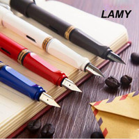 Wholesale Gifts Germany - Free Shipping Germany Origninal Lamy Fountain Pen Nice Gift Fast Writing Office Executive Pen