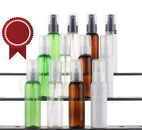 Wholesale transparent plastic perfume bottles - 60 ml Empty Transparent Plastic Spray bottle Fine Mist Perfume bottles Water suitable for carrying out air freshener