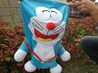 Wholesale Dream Candle - 50cm Doraemon plush toys skin, hold a candle A dream doll jacket, large teddy bear skin coat