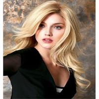 полный парик шнурка 27 цвет оптовых-Прямые волосы прямые волосы блондинка Glueless бразильские человеческие волосы 100% полный парик шнурка яки прямые полный парик шнурка девственница с цветом 27 младенца#