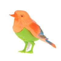 Wholesale Toy Birds Sing - BS#S Plastic Sound Voice Control Activate Chirping Singing Bird Funny Toy Gift Free Shipping