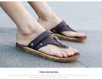 Wholesale Man S Sandals - Men 's sandals sandals sandals flip flops multi - function 2017 latest FREE SHIPPING