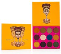 Wholesale Full Place - Hot Sale 2017 Juvia Place Nubian Nubian 1 and 2 Eye shadow Palette ANA twelve Colors eyeshadow palette Women fashion ANAS makeup foundation