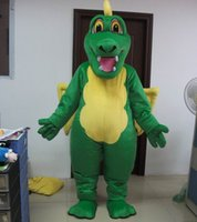 Wholesale Dragon Head Costume - red  green adult fly dragon mascot costume with wings with minin fan inside head custom color accepted free shipping