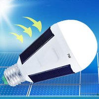 Wholesale Emergency Charge Solar - 2017 Hot solar energy emergency bulb charging bulb LED LED solar lights outdoor emergency light bulbs