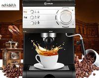 Donlim household espresso coffee machine semi-automatic iltian high-pressure pump stream cafe maker 20bar 1.5L milk foam 110-220-240v