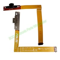 Wholesale Asus A68 - Wholesale- Original with Guarantee For Asus Padfone 2 Station P03 A68 REV 1.1 Micro USB Dock Charger charge charging Flex Ribbon Cable