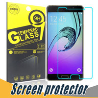 Wholesale S4 Film Retail - Anti-shatter Tempered Glass 9H 2.5D Screen Protector Film With Paper Retail For Samsung S6 Edge S5 mini S3 S4 C5000 C7000 S7582