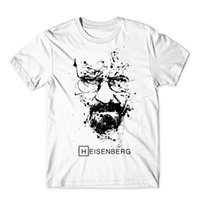 Wholesale-21kinds Breaking Bad T-Shirt Hombres Walter Blanco Cook Tops Heisenberg Camiseta Hombres Tops Tees Cook Camisetas Hombre moda camiseta