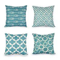 Wholesale cotton decor - high quality Top Nordic Decorative fashion Cushion Covers Cotton Linen Throw Pillow Cover for Sofa Decor Scandinavian Style Pilow Cases