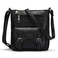 Wholesale Ladys Leather Shoulder Bag - Wholesale-Hot New Bag Women Crossbody Bags PU Leather Messenger Bag Bolsa Feminina Purses And Handbags Ladys Shoulder Bag Bolosa