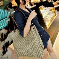 Wholesale Handbag Free Shiping - Wholesale-Hot !!! 2014 Fashion Women's Designer Handbag Knitted Handbag Female Shoulder Bag Women Leather Handbags Big Bags Free Shiping