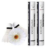 Wholesale Tubes Feather Shuttlecock - Winmax factory directly cheap price 12 PCS  tube packing badminton shuttlecock,duck feather white color shuttlecock