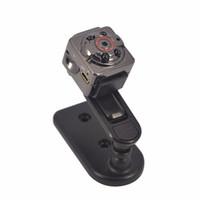 ingrosso registratore audio microcamera-All'ingrosso- 1080P Mini Camera Recorder SQ8 SQ9 720P videocamera videocamera video ad infrarossi visione notturna HD Micro T