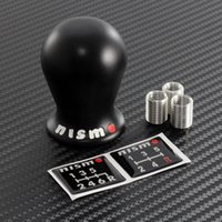 Wholesale Nissan Race - 2017 HOT FOR Nissan NISMO Duracon Racing Shift Knob SE-R GTR G35 G37 S13 S14 ALTIMA R35 Black   White