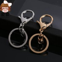Wholesale Key Locking Buckles - DIY accessories Keyrings wings buckle fashion decoration Metal keychains key holder pendants hanging buckle keychains with D locks