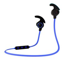 H6 Business Sport Kopfhörer In-ohr Wireless Stereo BT4.1 Lauf Kopfhörer Headset Freisprecheinrichtung Pair / Off / On Receive / Hang Blau