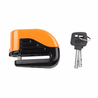 Wholesale U Bike Lock Cable - Bicycle Bike Mini Electron Alarm Disc Brakes Lock Mountain Bike Road Racing Bike Anti Theft Security Accessories with keys drop
