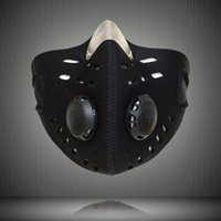 Wholesale Bicycle Mask Dust - Motorcycle Bicycle Sports Protect Activated Carbon Half Face Mask Anti-pollution City Cycling Dust Mask mouth-muffle with filter