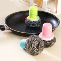 Wholesale Japan Style Steel Cleaning Brush With Hand Shank Pot Cleaning Brush