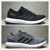 Wholesale Low Boots For Men - Adidas Pure BOOST LTD 2017 Men's Running Shoes PureBOOST Size 40-45 Men Nmd R1 Running Shoes For Men Boots Ultra Boost Shoes Sneakers