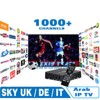 Miglior IPTV per l'arabo Europa Italia Francia 1000 canali, Android TV box set top Skyi news bbc Bein Sports su mag250 vu + ios