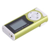 "Wholesale Mp3 Player Sd Popular - Wholesale- Popular 1.3"" Mini USB Clip LCD Screen MP3 Media Player Support 16GB Micro SD TF"