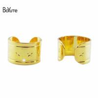 Wholesale Clip Earrings Star - BoYuTe (50 Pieces Lot) One Row Star Ear Cuff Earrings Fashion Earring Cuff for Women Fashion Jewelry