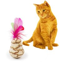 Funny Pet Toy Sisal Ball Mint Ball Toy Cat Dog Teaser Jouer Chew Rope Ball Cat Treats Toys Cat Supplies