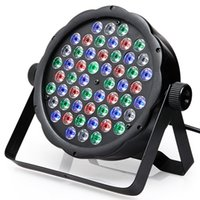 Controllo DMX 54 RGBW LED Par Light Per Disco Party DJ Bar Lamp Musica Show Strobe Proiettore Effetto di illuminazione a palco