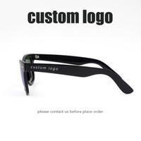 Wholesale Eye Glass Rimless Frames - Custom logo Sunglasses Men Women brand designer Sun glasses Famous eyewear
