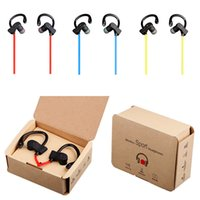 Wholesale Lg Bluetooth Headset Best Price - 2017 Hot Sale Best Price S4 Wireless Sports Bluetooth 4.1 Headset Headphone In-ear Earphone With Retail Box DHL Free Ship