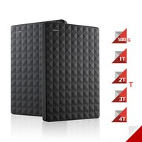 "Wholesale 3tb Hdd - Wholesale- Seagate Expansion HDD Disk 4TB 3TB 2TB 1TB 500GB USB 3.0 2.5"" 4TB Portable External Hard Drive HDD for Desktop Laptop Computer"