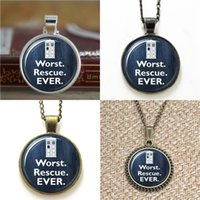 Wholesale Photo Rescue - 10pcs Doctor Who Jewelry Worst Rescue Ever David Tennant Tardis Glass Photo Cabochon Necklace keyring bookmark cufflink earring bracelet