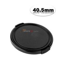 Wholesale Nex 5r Lens - Wholesale-2pcs 40.5mm Side-Pinch Lens Cap For NEX5R NEX 5R NEX-5T NEX-6 16-50 VIA 1 V1 J1 Nikkor VR 30-110mm 10-30mm filter protection