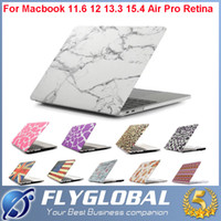 Wholesale Design Macbook - 2017 Pattern Design Matte Hard Rubberized Case Cover Protector for Apple Macbook Air Pro with Retina 11 12 13 15 inch Laptop Frosted Cases