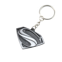 Wholesale Gift Souvenir Keychain - Superhero Batman Keychain Men Trinket Super Hero Marvel Spiderman Car Key Chain Chaveiro Key Ring Holder Jewelry Gift Souvenirs