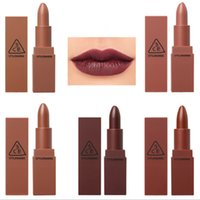 Wholesale 3ce Lips - 2017 New 3CE Lipstick Lot Matte Cosmetic Waterproof Long Lasting Pigment Velvet Brand Sexy Lip Matte Nude Lipstick Kits