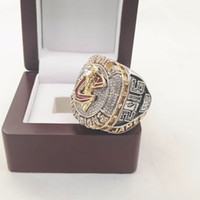 Wholesale LeBron Alloy world basketball Championship Ring With Wooden Box