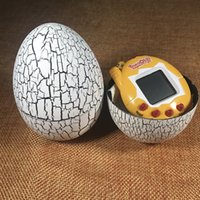 Wholesale Perfect Game - Tamagotchi Tumbler Toy Perfect For Children Birthday Gift Dinosaur Egg Virtual Pets on a Keychain Digital Pet Electronic Game