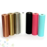 copper electronics mods - SMPL Full Mechanical Mod for Battery with Thread Red Copper SS Black Brass Mech Mod Electronic Cigarette