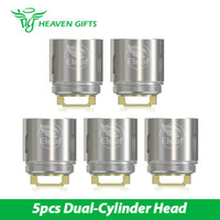 Wholesale Heads Cylinder - 5pcs in a pack Eleaf HW2 Dual-Cylinder Head for Ello Mini 0.3ohm Resiatance coil Head for Ello Mini From HG 100% Original
