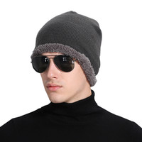 Wholesale Best Ladies Sweaters - high quality tight-fitting knitted sweaters plus ball hat the best quality of women's hat headdress Warm Ladies hat