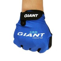 Wholesale giant cycling for sale - Group buy Cycling Gloves Giant Short Finger Man Mountain Bike Spring And Summer Wear Resistance Non Slip Breathable Sports Glove Good Comfort wt F